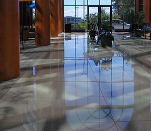 Corporate Tile Floor
