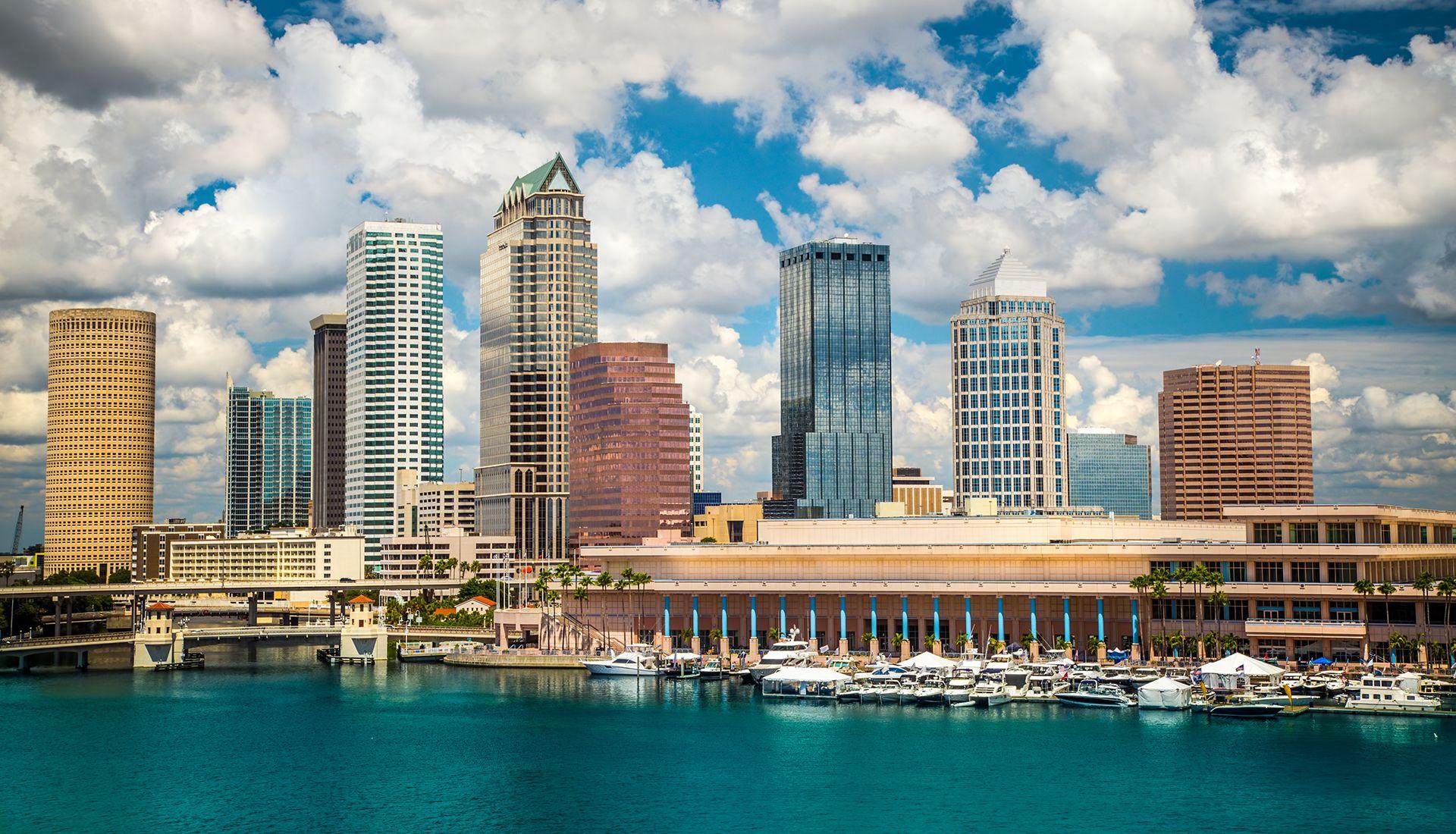 Tampa FL skyline
